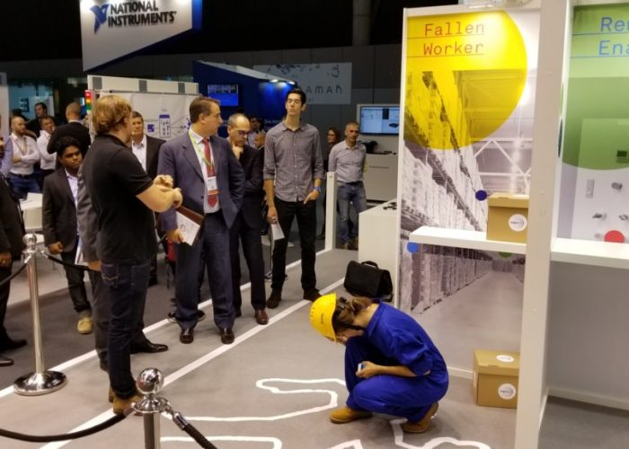 A Successful Partnership On IoT for Worker Safety at IoT Solutions World Congress 2017