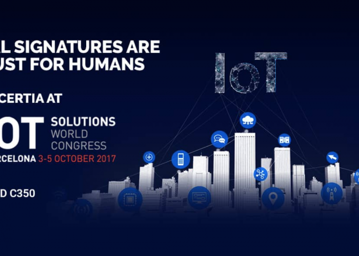 Meet the team at IoT Solutions World Congress 2017